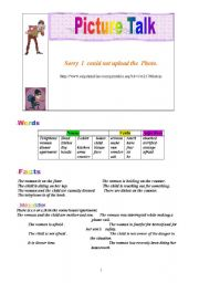 English Worksheet:  Writing.  Use this photo to make your students write a story. You might  tell  them to respect the three main parts of a story: Setting, character(s) and plot.