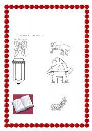 English Worksheets: kids evaluation 2