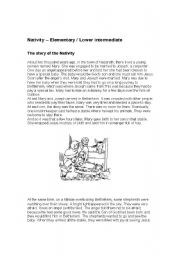 English Worksheets: nativity