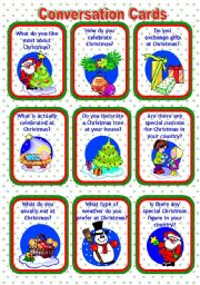 CONVERSATION CARDS: CHRISTMAS