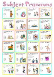 english teaching worksheets pronouns. Black Bedroom Furniture Sets. Home Design Ideas