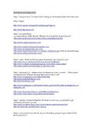 English Worksheet: Edinburgh webquest