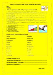 English Worksheets: What sort of a learner are you?
