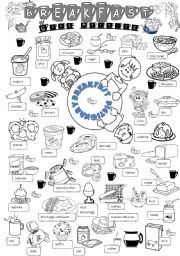 English Worksheet: breakfast