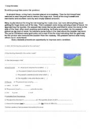 English Worksheets: obstacls on the way