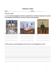 Printables Frida Kahlo Worksheets worksheet frida kahlo