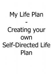 English Worksheets: My Life Plan
