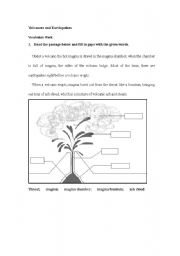 english teaching worksheets volcanoes. Black Bedroom Furniture Sets. Home Design Ideas
