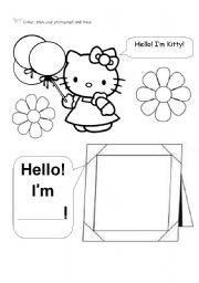 English Worksheets: FIRST DAY - HELLO
