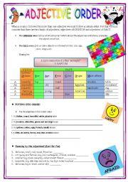 english worksheets the adjectives worksheets page 33. Black Bedroom Furniture Sets. Home Design Ideas