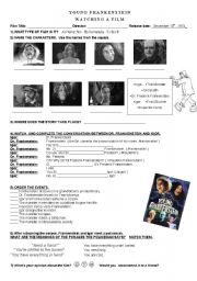 English Worksheet: Young Frankenstein (film)