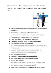 Catch Me If You Can Worksheet Esl Worksheet By Lizak