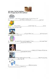 English worksheet: The First Conditional-Complete sentences