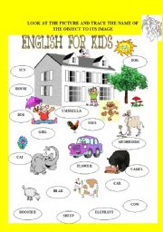English Worksheets: For young learners