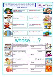 English Worksheets: �s=possession