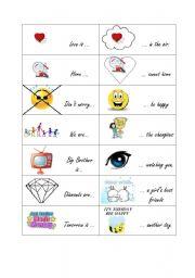 English Worksheets: Memory English slogans and sayings