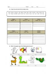 English Worksheets: The Plurals