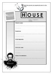 Dr. House MD Episode 2 Season 1