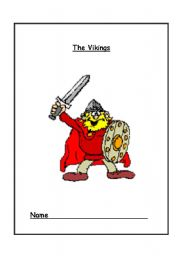English Worksheet: Vikings Activity Book