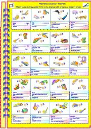 English Worksheets: Prefers / Doesn�t Prefer (with answer key) **editable