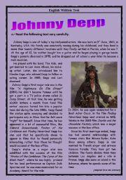 Test - Johnny Depp