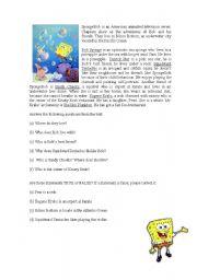 Sponge Bob - Reading