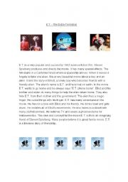 English Worksheets: E.T. the movie