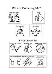 English Worksheets: What�s Bothering Me?