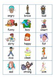 Describing people > Flashcards Adjectives (Describing People