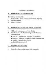 English Worksheets: Biomes