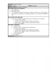 English Worksheets: GAMEBOARD TO REVISE