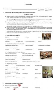 English Worksheet: WARNINGS, MUST AND HAVE EXERCISE.