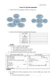 English Worksheets: IT�s all in the preparation