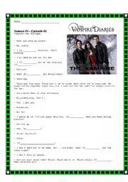 Vampire Diaries- Season 01- Episode 02