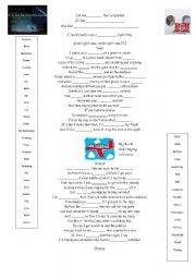 English Worksheets: Airplanes Song