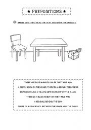english teaching worksheets prepositions. Black Bedroom Furniture Sets. Home Design Ideas