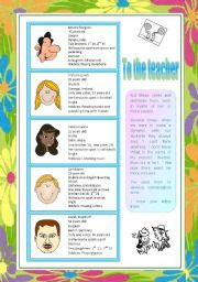 English Worksheet: Introducing people-conversation cards