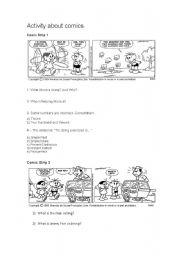 English Worksheets: Monica�s Gang