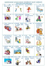 English Worksheet: personal pronouns subject and object -PART A