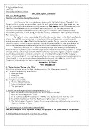 English Worksheets: Anti-Corruption Day