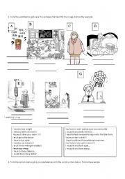 English Worksheets: must, need and have