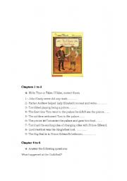 English Worksheets: The Prince and the Pauper