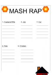 picture regarding Mash Game Printable named English worksheets: MASH
