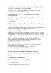 English Worksheets: actions veb