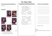 English Worksheets: The hokey-pokey