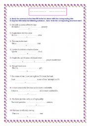 English Worksheet: Grammar: Compound Adjectives