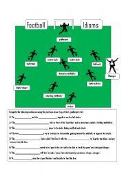 english teaching worksheets football. Black Bedroom Furniture Sets. Home Design Ideas