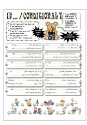 English Worksheets: CONDITIONAL 1