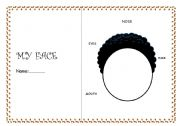 English Worksheets: DRAW YOUR FACE