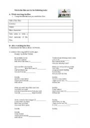 Into the Wild - worksheet